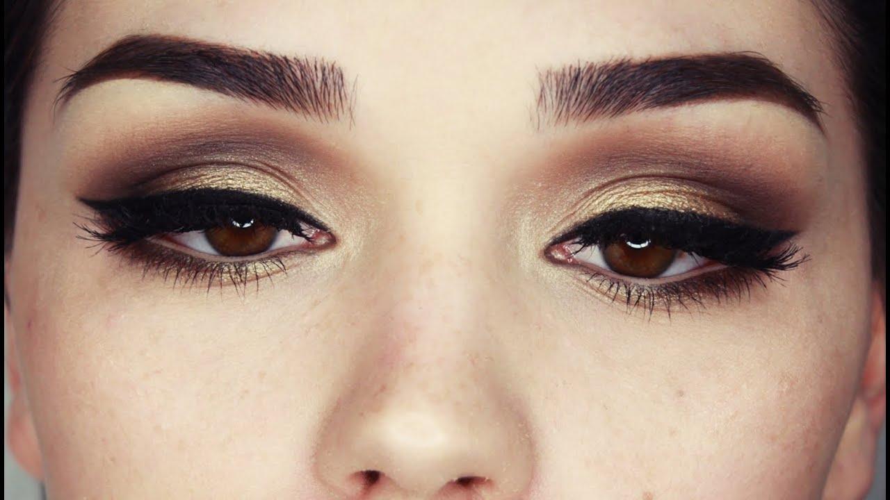 arabic eye makeup tutorial for brown eyes