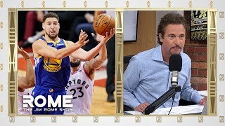 The Warriors Injury Woes Continue! | The Jim Rome Show