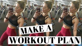 Make A Workout Plan My Workout Schedule