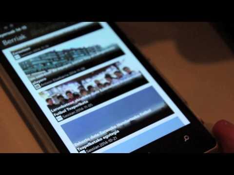 'Playeruak' aplikazioa