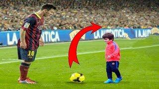 Fussball-Stars vs Kinder !
