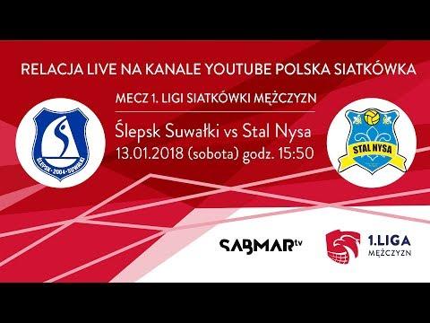 I Liga Siatkówki Ślepsk Suwałki  - AZS PWSZ Stal Nysa