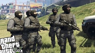 """GTA 5 PC - Police MOD """"Updated Police Mod"""" (Become Officer & SWAT Team)"""