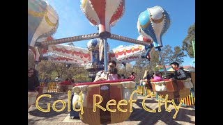 Gold Reef City Childrens' Rides | Family Day | Baby Talk | South Africa Vlog | 南非黃金城