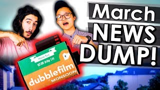 AGFAPhoto is GONE!? NEW Dubble 35mm Film? 3 Camera Phone!? | Photography News Dump March 2018