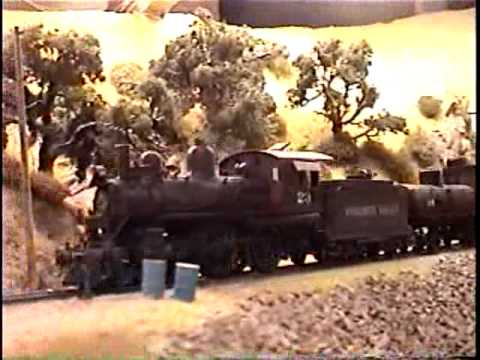 Jack Burgess' Yosemite Valley Railway 1939 Video