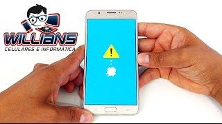 Hard Reset Samsung Galaxy J7 Metal SM-J710, J710MN, Como formatar, Desbloquear, Restaurar