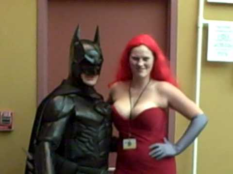 Jessica Rabbit and Batman posing together - from Archon 33 Video