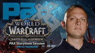 Pax West 2018 Storytime Session with Ion Hazzikostas