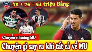 """🔥Tin Chuyển Nhượng 22/7 : Mu Chiêu Mộ  Hàng loạt """"siêu b.om tấn"""" -Zidane nổi giận"""