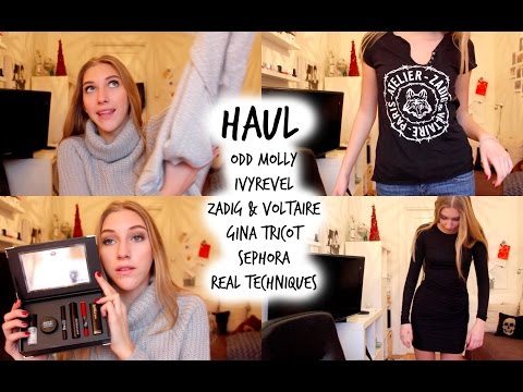 HAUL  ♥ Odd Molly, Sephora, Ivyrevel, Zadig & Voltaire, Gina Tricot