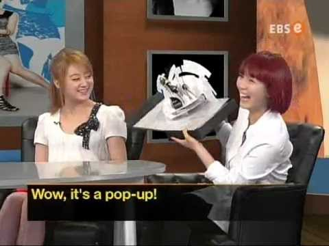 120625 EBS Star English - Wonder Girls Sunye & Lim
