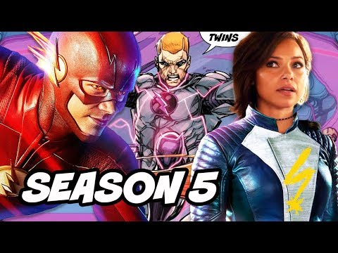 The Flash Season 5 Nora Allen Mistake and Tornado Twins Scene Explained thumbnail