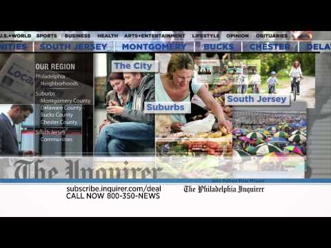 The Philadelphia Inquirer TV Commercial - 50% Off Subscription Offer