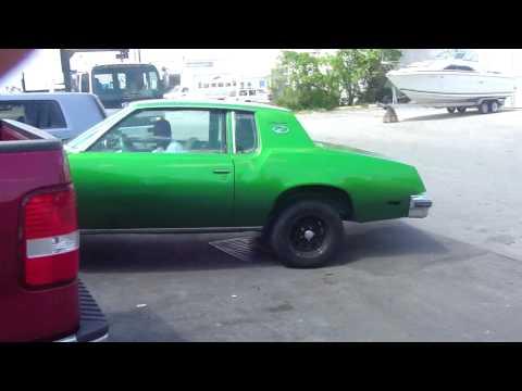 CANDY SLIME GREEN CUTLASS !! XCLUSIVE BURNING OUT!! RUNNINNN!!!!!!!!!