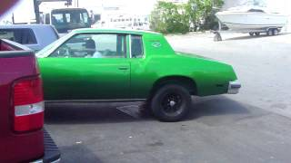 CANDY SLIME GREEN CUTLASS !! XCLUSIVE BURNING OUT!! RUNNINNN!!!!!!!!!