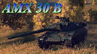 AMX 30 B.Новый француз показал себя.World of Tanks