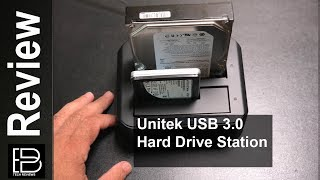 UNITEK USB 3.0 to SATA Dual Bay Hard Drive Docking Station