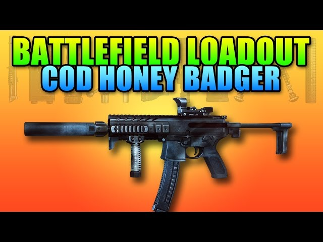 Loadout COD Ghosts Honey Badger / MPX | Battlefield 4 PDW Gameplay