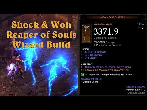 NEW Wizard Build - Shock & Woh - Diablo 3: Reaper of Souls