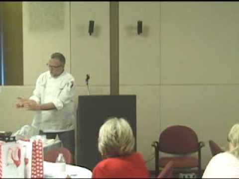 Go Red - Jeff Hadley, Wake Technical Community College Culinary Department, Cooking Demonstration