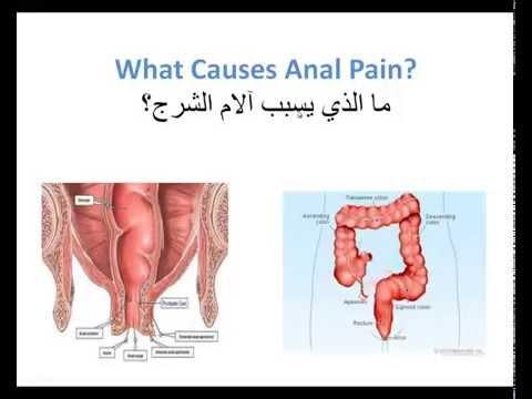 ما هي اسباب الألم في منطقة الشرج Causes Of Anal Pain video