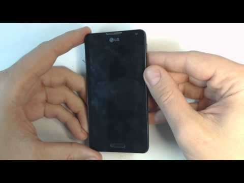 LG Optimus F6 D505 - How to reset - Como restablecer datos de fabrica