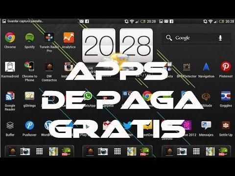 Descarga Aplicaciones de Paga Totalmente GRATIS! en cualquier Android // Tu Android Personal