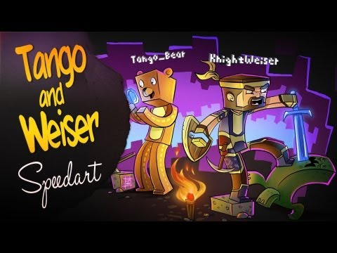 Minecraft SpeedART - Tango and Weiser
