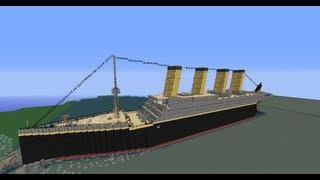 Tytanic- Minecraft budowle