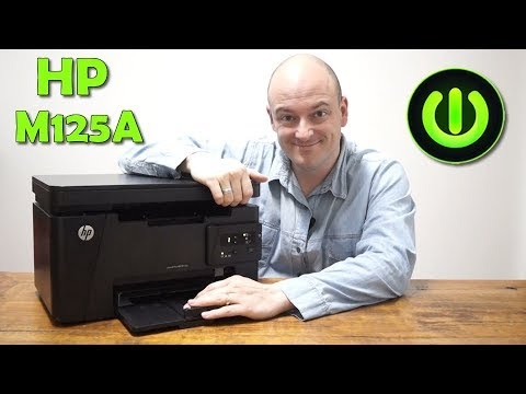 HP M125A MULTIFUNCIONAL LASER 125A REVIEW COMPLETO   #WOLFFTEC   WFT07