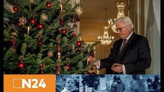 Steinmeiers Weihnachtsansprache вEs gibt auch eine Stille, die bedrohlich werden kannв