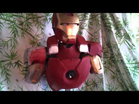 IronMan 3 Mark VII armor update.