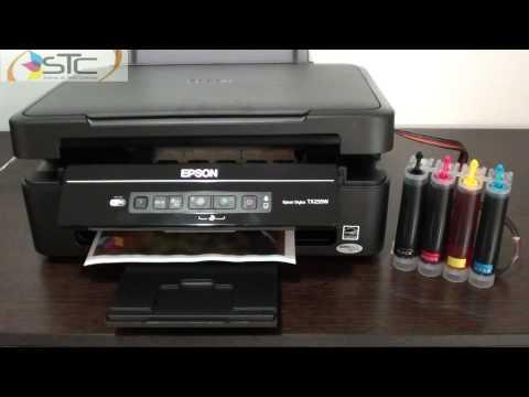 Multifuncional Epson TX235W Wi-Fi  Con sistema de tinta continua