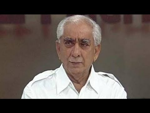 Jaswant Singh: 'India at risk'