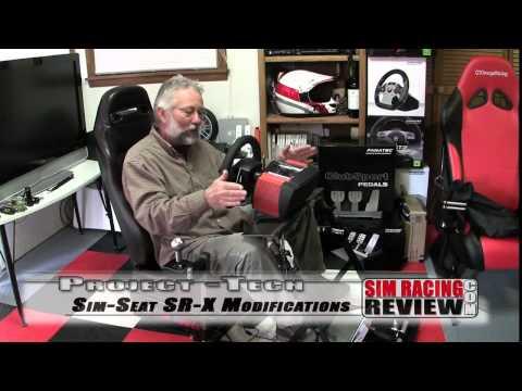 Sim Racing Review - Sim Seats SR-X Cockpit Modifications