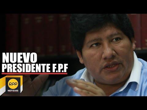 FPF: Edwin Oviedo nuevo presidente Federación Peruana de Fútbol │RPP
