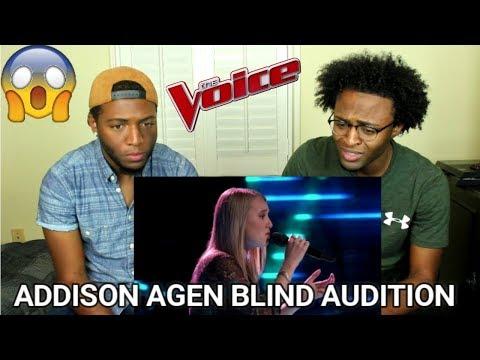 The Voice 2017 Blind Audition - Addison Agen: