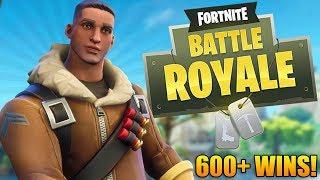 Fortnite Battle Royale: TRY-HARD TRAINING! - 600+ Wins - Level 85+ - Fortnite Gameplay - (PS4)