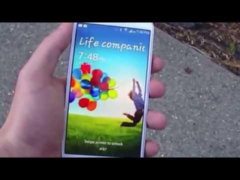 اختبار سقوط الجلاكسي اس 4 على الارض & Samsung Galaxy S4 Drop Test