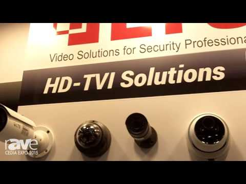 CEDIA 2015: LTS Introduces HD-TVI Solutions and Tribrid DVR