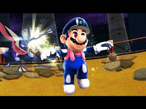 Super Mario Galaxy 2 - Greninja Costume (HACK)