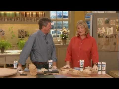 Easy Wood Staining Tips From Martha Stewart and Bruce Johnson