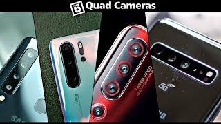 Top 5 BEST Quad (Four) Rear Camera Smartphones (2019)