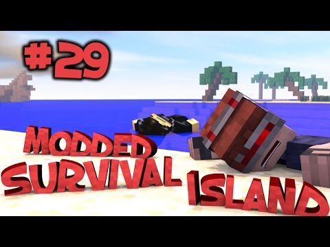 Survival Island Modded - Minecraft: A HOT Find Part 29