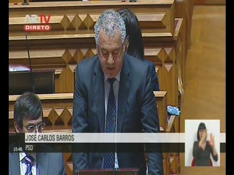 Intervenção do Deputado José Carlos Barros