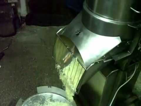 Electric cheese grating machine