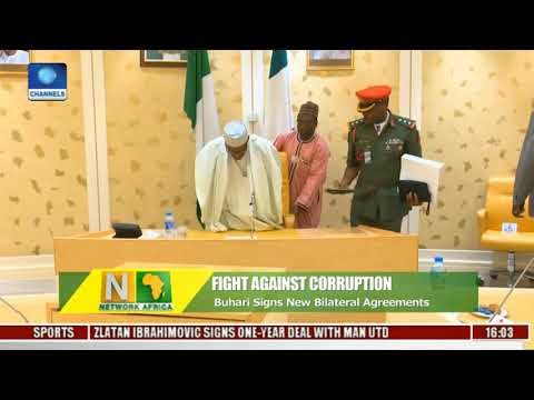 Buhari Signs Extradition Treaty On Anti Corruption War, Others