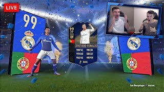 FIFA 18: OMG TOTY PACK OPENING! 🔥😱  Ronaldo, Messi & Kane in PACKS!!