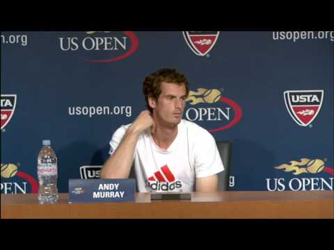 2012 US Open Press Conferences: Andy Murray (Pre-Event)